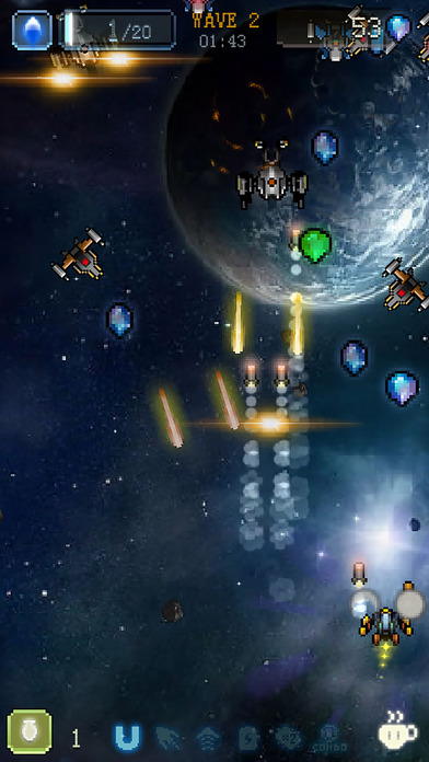 Sky Master - pixel shooter Screenshots