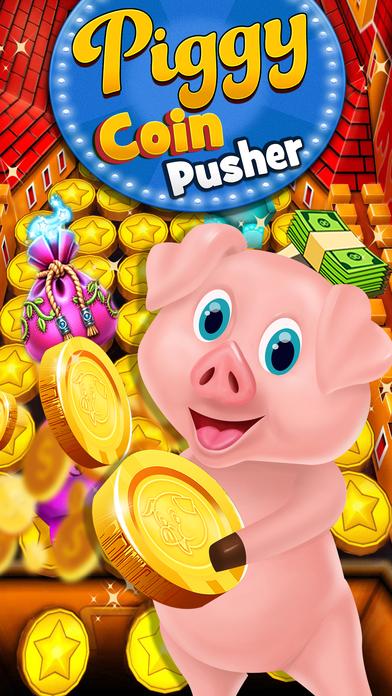 Screenshot 1 свинка Монета толкатель — бульдозер Казино Игры