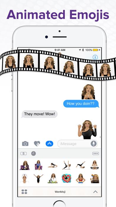 WenMoji by Wendy Williams Apps for iPhone/iPad screenshot