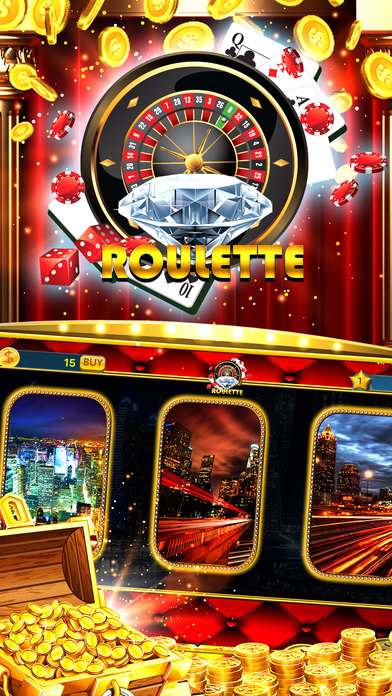 Screenshot 1 Diamond Party Roulette – Wheel of Bluffer Lotto 3D