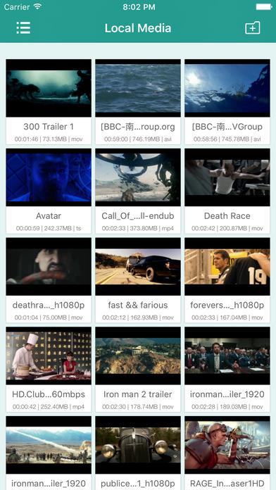 sPlayer Screenshots