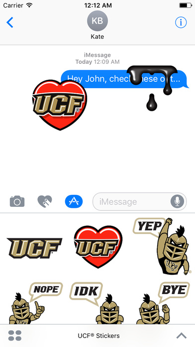 UCF® Stickers screenshot 2