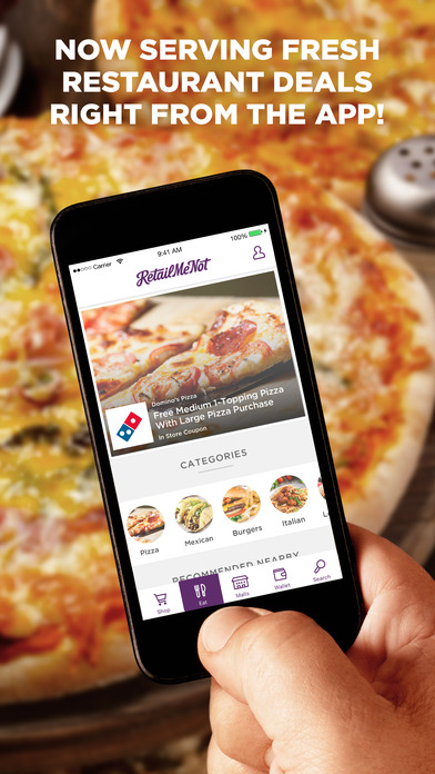 RetailMeNot – Shopping Deals, Coupons and Savings screenshot