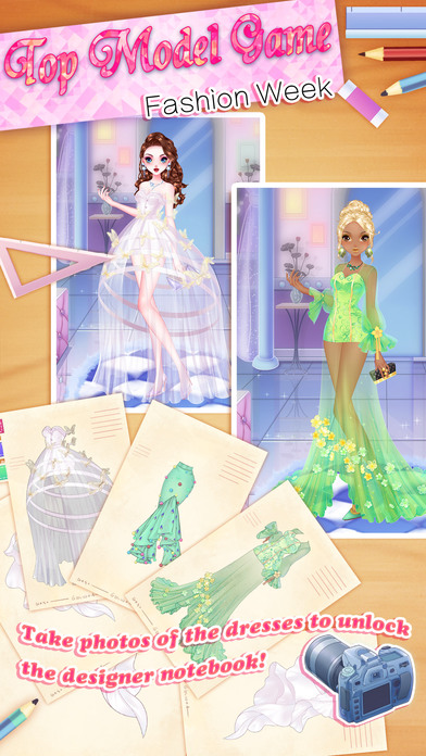 Top Model Game Fashion Week App Report On Mobile Action