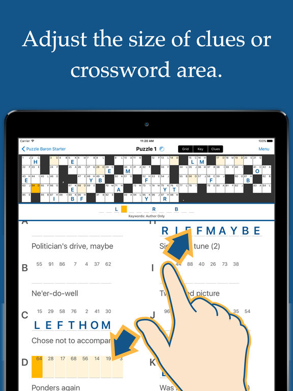 Acrostic Crossword Puzzles Screenshots