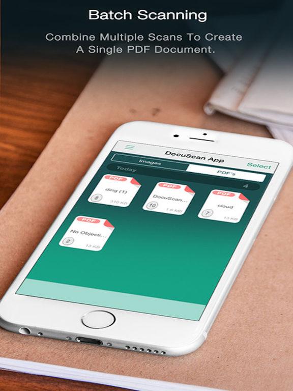 Scanner - PDF Document iScanner App Screenshots