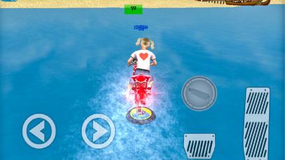 Water Surfer Bike Adventure screenshot 1