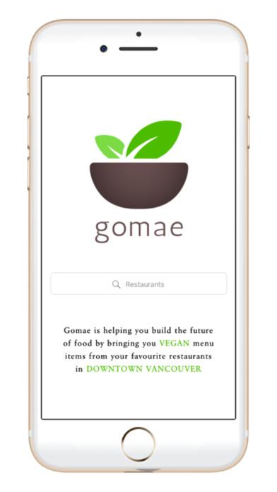 Gomae screenshot 1