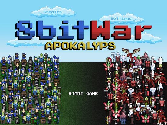 8bitWar: Apokalyps Screenshots