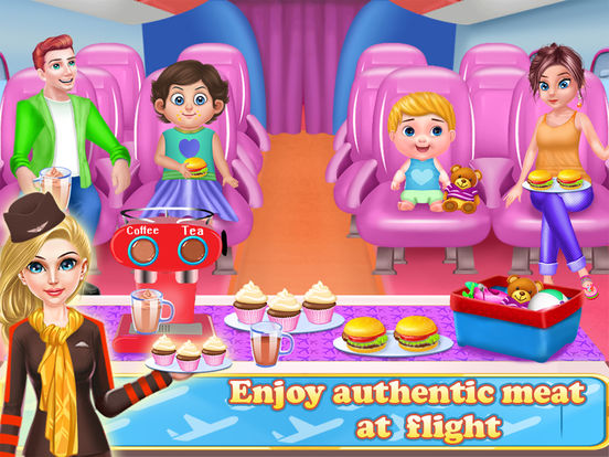 Airhostess Flight journey screenshot 8