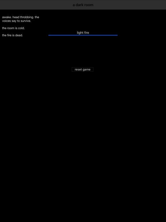 A Dark Room Screenshots