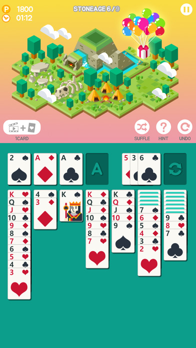 Age of Solitaire : Build City screenshot 2