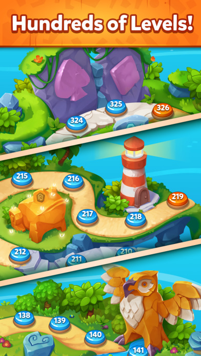 Solitaire Dash TriPeaks Islands screenshot 4
