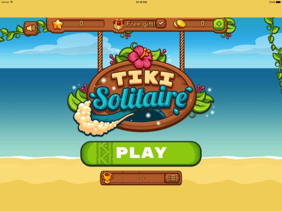 Tiki Solitaire screenshot 4