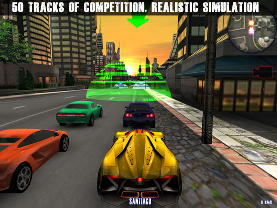 Midtown Crazy Race Pro Screenshots