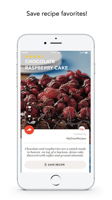 download MyGreatRecipes! apps 0