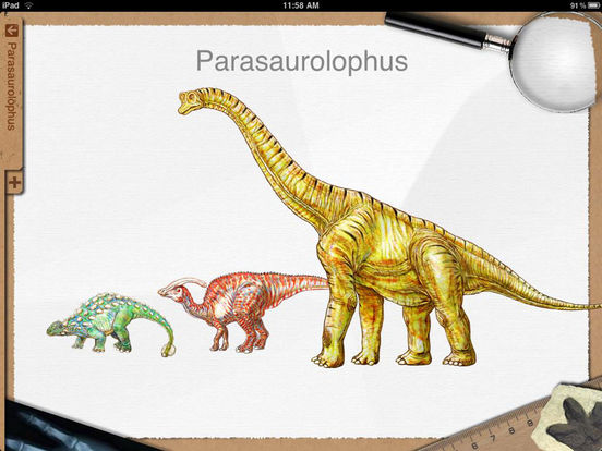 Dinosaur Book HD: iDinobook Screenshots