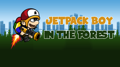 Jetpack Boy In The Forest screenshot 1