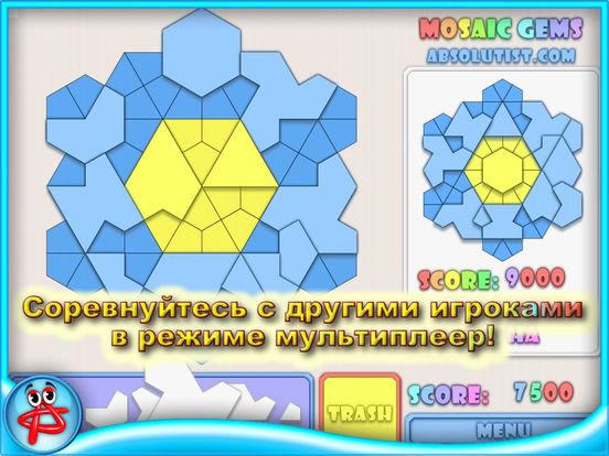 Mosaic Gems: Мозаика - Волшебный Пазл Glassez! на iPad