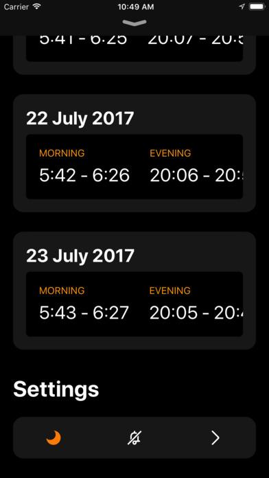 Helios - Magic Hour Calculator screenshot 4