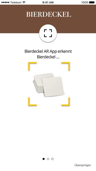 Bierdeckel AR screenshot 1