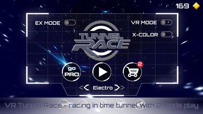 VR Tunnel Race: Time Travel Cardboard V Game 3D screenshot