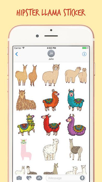 The Art Llama Stickers Pack screenshot 2
