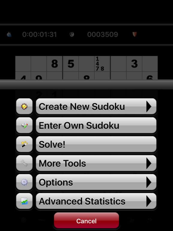 Sudoku by Mastersoftscreeshot 3