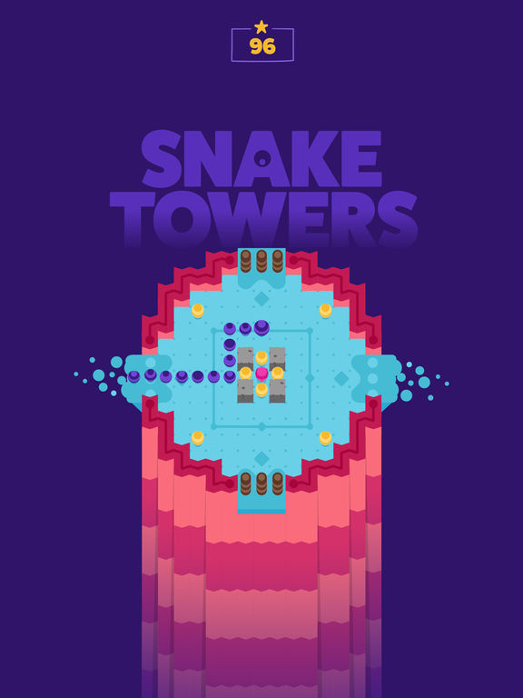 Screenshot #1 for Snake Towers