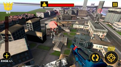 US Army Sniper Robots Futuristic Battle screenshot 2