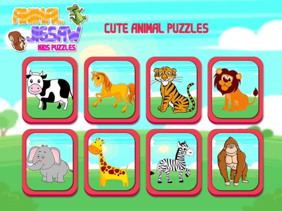 Animal Jigsaw Kids Puzzle screenshot 7