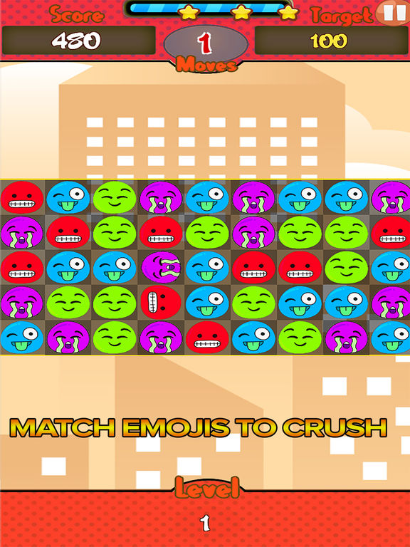 Jelly Emoji Match screenshot 5