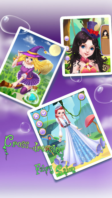 Screenshot 3 Faerie DressUp Salon