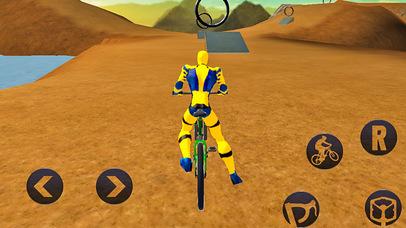 Spider Superhero Bicycle Riding: Offroad Racing screenshot 2