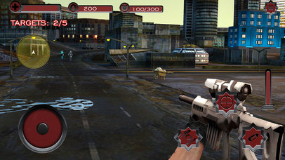 Monster Superhero Sniper Shooter screenshot 5