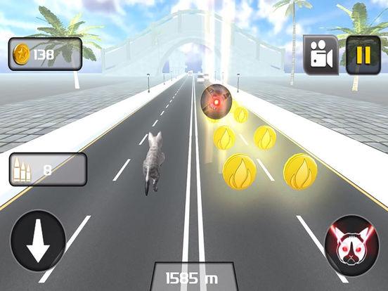 Kitty Cat Rush 3D Game screenshot 7