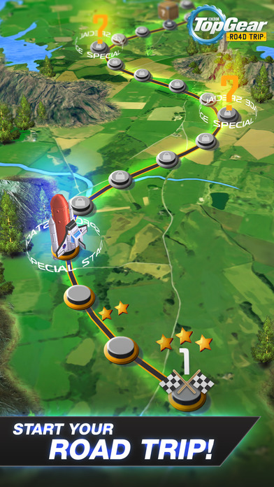 Top Gear: Road Trip screenshot 4
