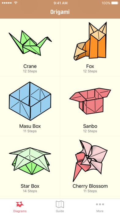 origami learn how to make origami models app download