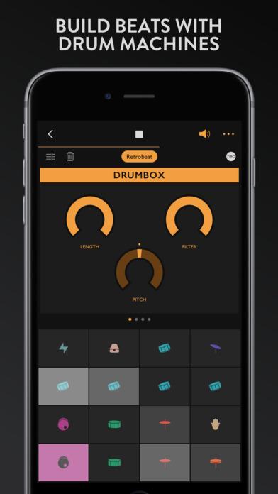 Groovebox - Beats & Synths Music Studio Screenshot 2