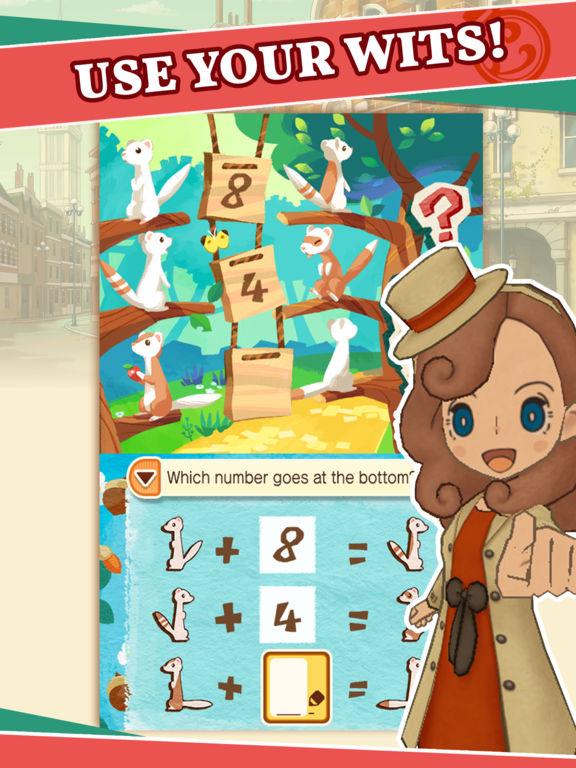 Layton's Mystery Journey Screenshots