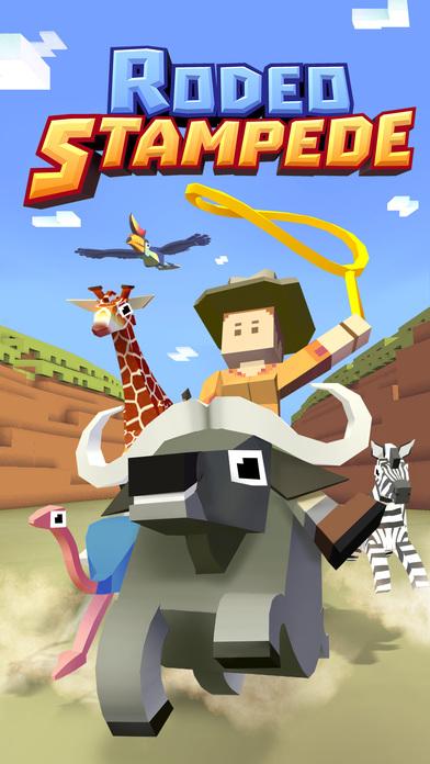 Rodeo Stampede - Sky Zoo Safari Screenshot