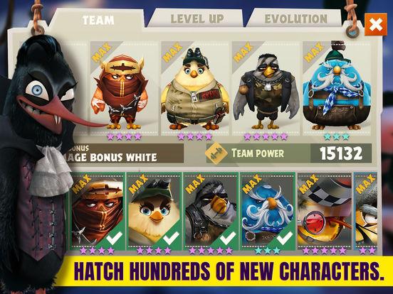 Screenshots of Angry Birds Evolution for iPad