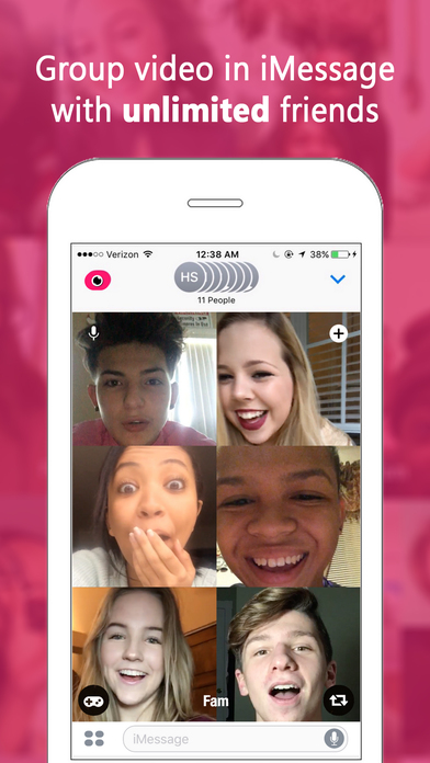 download Fam — Group video calling for iMessage apps 0