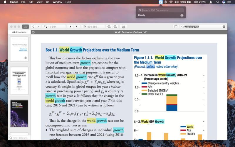 PDF Search for Mac