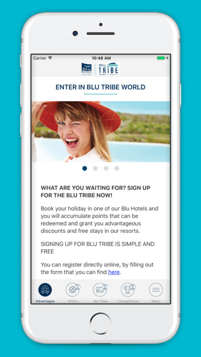 Blu Tribe screenshot 1