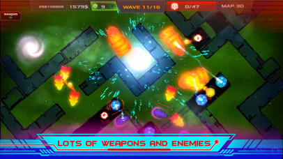 Galaxy Glow Defense screenshot 4
