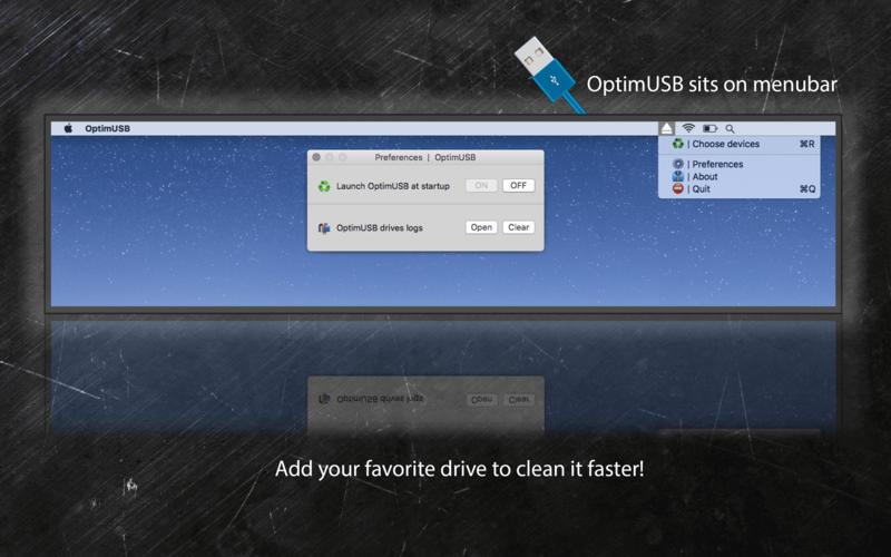 OptimUSB for Mac 7.2.0 破解版 - Mac上实用的优化清理USB存储设备工具