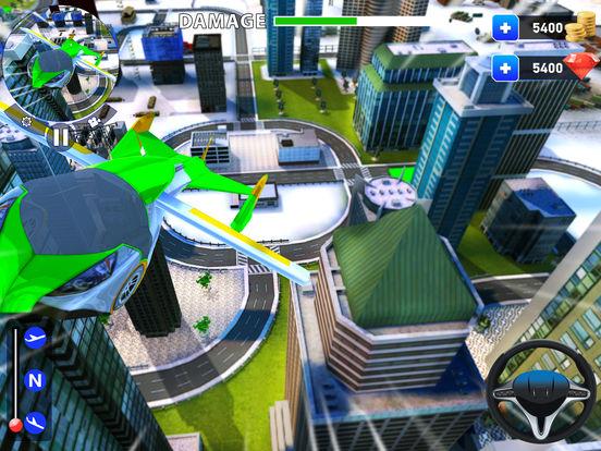 летающий робот Трансформация: реальный бой Боты Скриншоты7