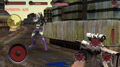 Monster Superhero Sniper Shooter screenshot 4