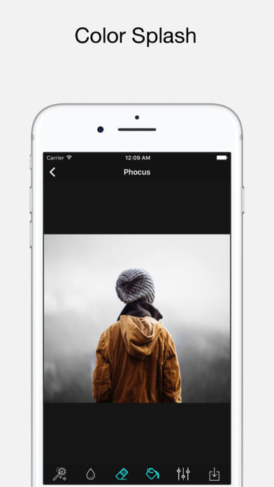Phocus: Portrait mode editor screenshot 3